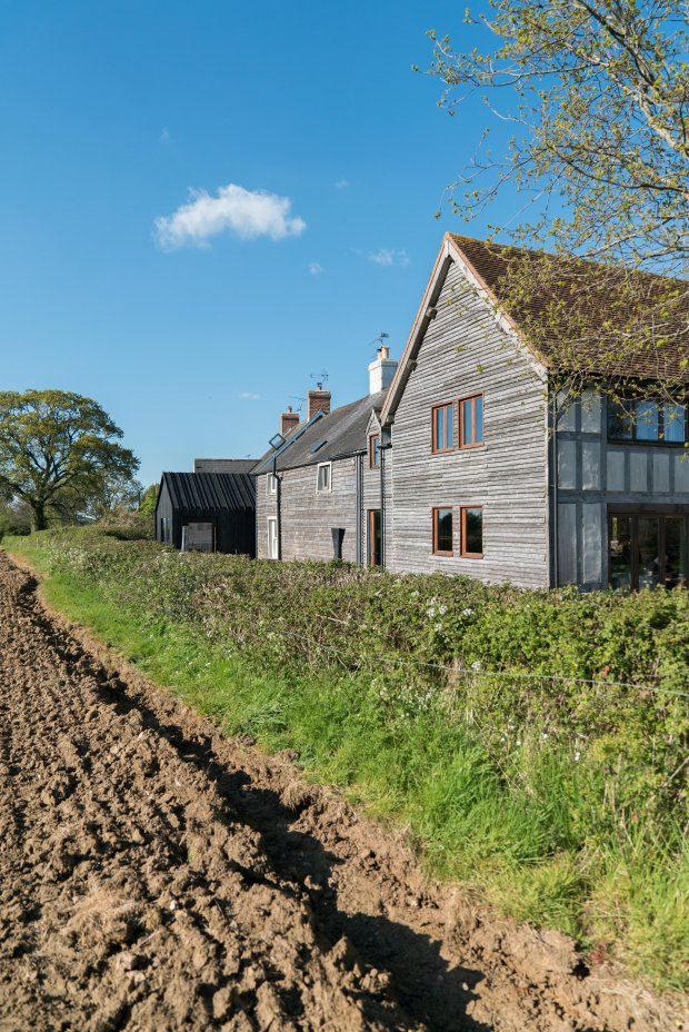 Chantry Studio View From Field (c) YOU&ME Architecture